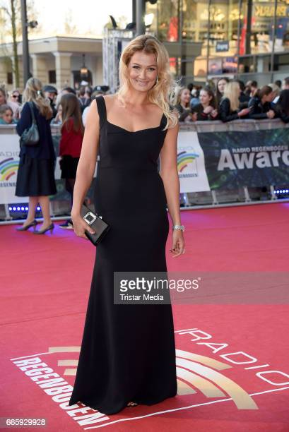 Franziska van Almsick attends the Radio Regenbogen Award 2017 at EuropaPark on April 7 2017 in Rust Germany