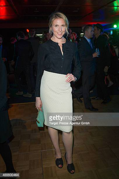 Franziska Weiss attends the 'First Steps Award 2014' at Stage Theater on September 15 2014 in Berlin Germany