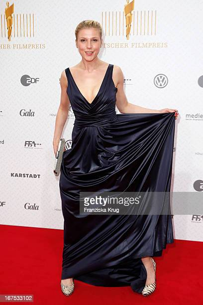 Franziska Weiss attends the Lola German Film Award 2013 at FriedrichstadtPalast on April 26 2013 in Berlin Germany