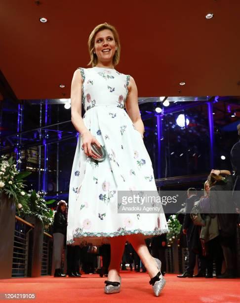 Franziska Weisz attends the award ceremony of 70th Berlinale International Film Festival in Berlin Germany on February 29 2020