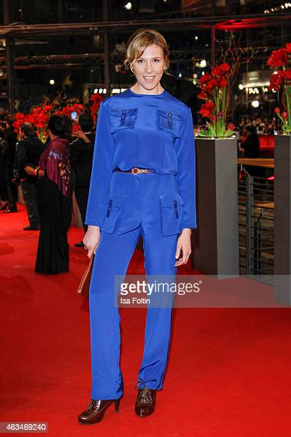 Franziska Weisz attends the Closing Ceremony of the 65th Berlinale International Film Festival on February 14, 2015 in Berlin, Germany.