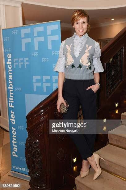 Franziska Weisz attends the FFF Reception 2017 during the 67th Berlinale International Film Festival on February 16 2017 in Berlin Germany