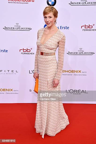 Franziska Weisz attends the Lola German Film Award on May 27 2016 in Berlin Germany