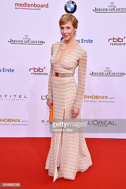 Franziska Weisz attends the Lola - German Film Award on May 27, 2016 in Berlin, Germany.