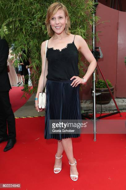 Franziska Weisz during the Bavaria Film reception during the Munich Film Festival 2017 at Kuenstlerhaus am Lenbachplatz on June 27 2017 in Munich...