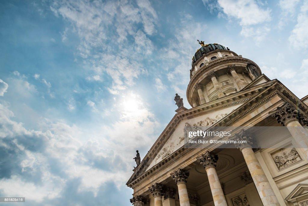 Französischer Dom / French Dome in Berlin, Germany : Foto de stock