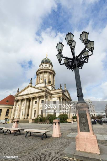 französischer dom in berlin - französischer dom stock pictures, royalty-free photos & images