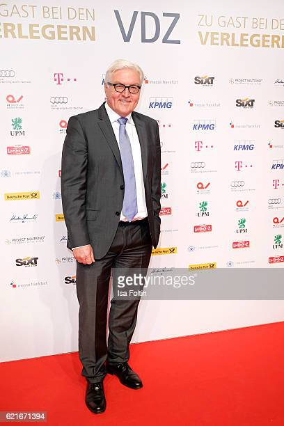 FranzWalter Steinmeier during the VDZ Publishers' Night 2016 at Deutsche Telekom's representative office on November 7 2016 in Berlin Germany