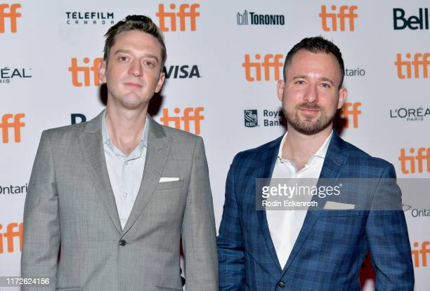 Fraser Ash and Kevin Krikst attend the Clifton Hill premiere during the 2019 Toronto International Film Festival at Ryerson Theatre on September 05...