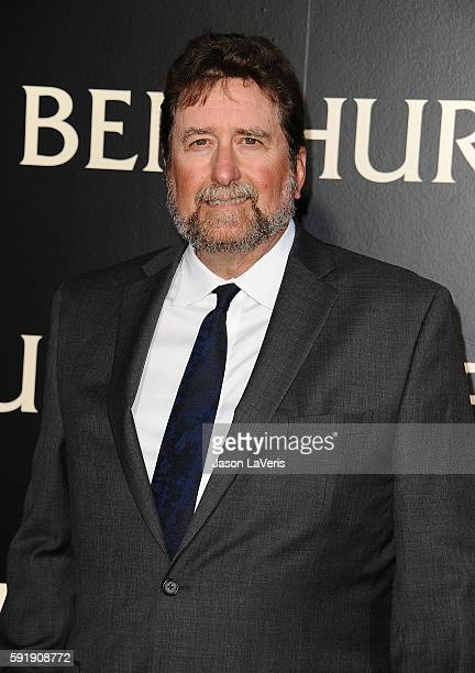Fraser Clarke Heston attends the premiere of BenHur at TCL Chinese Theatre IMAX on August 16 2016 in Hollywood California