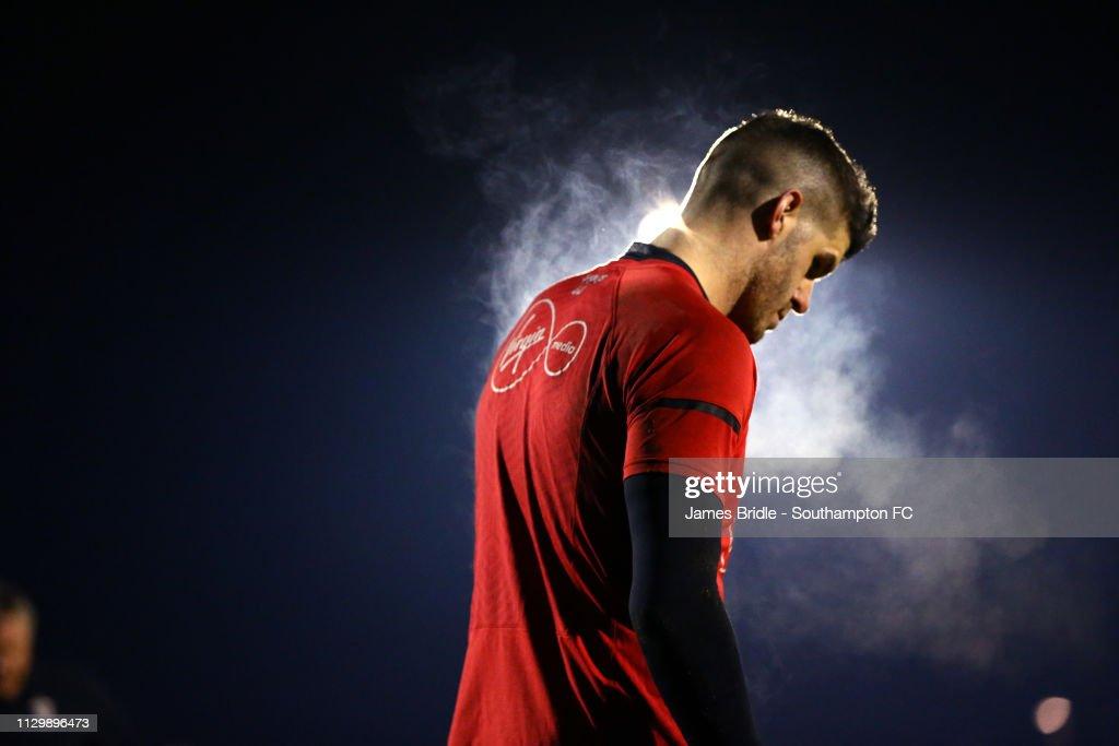 GBR: Southampton v Fulham: Premier League 2