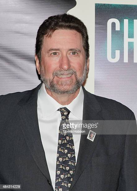 Fraser Heston attends the firstdayofissue dedication ceremony for the Charlton Heston Forever Stamp at TCL Chinese Theatre on April 11 2014 in...