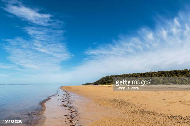 fraser island storm front 3 - lianne loach stock pictures, royalty-free photos & images