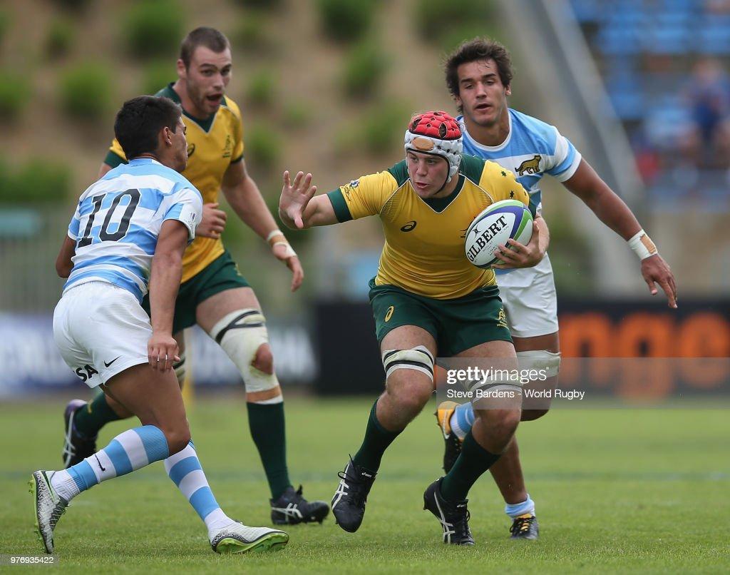 Argentina U20  v Australia U20 - World Rugby Under 20 Championship
