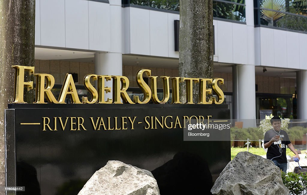 Fraser Suites River Valley, operated by Fraser & Neave Ltd. (F&N) subsidiary Frasers Centrepoint Ltd., stands in Singapore, on Wednesday, Aug. 28, 2013. Fraser & Neave, controlled by Thailands richest man Charoen Sirivadhanabhakdi, climbed the most in five weeks on plans to spin off its property business through a Singapore listing at the end of the year. Photographer: Munshi Ahmed/Bloomberg via Getty Images