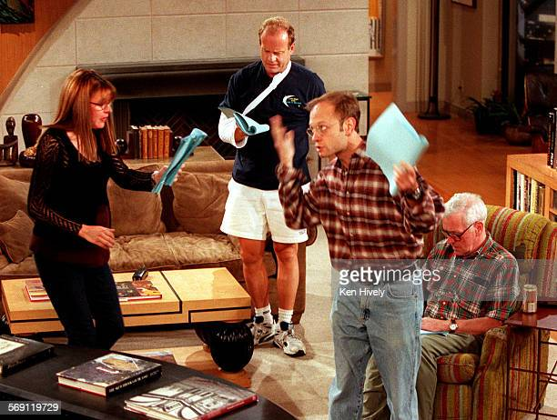 Frasier continues to attract big ratings demonstrataing that the show is true appointment viewing where people show up at a preordained time to watch...