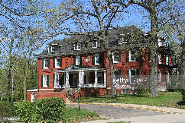 fraternity house, university of michigan - ann arbor stock pictures, royalty-free photos & images