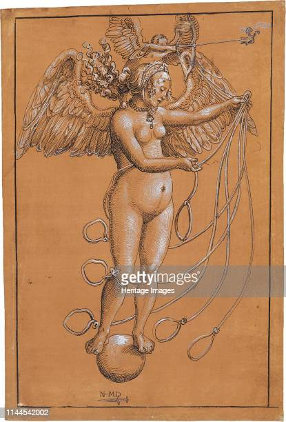 Frau Venus, circa 1512. Found in the Collection of Art Museum Basel. Artist Manuel, Niklaus .