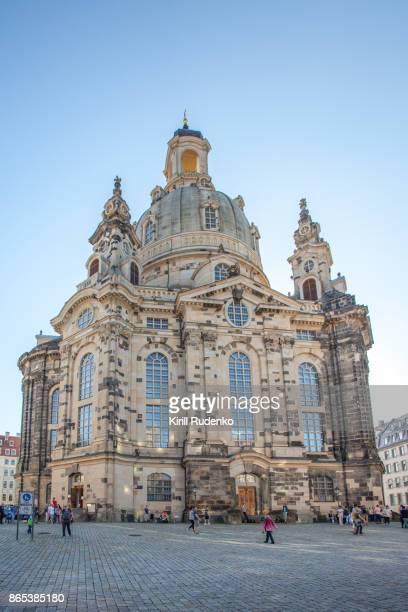 Frauenkirche Dresden in Autumn