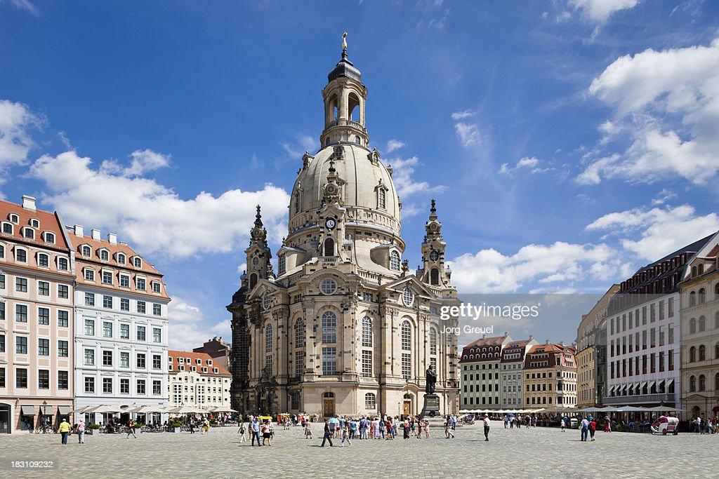Frauenkirche Dresden : Stock Photo