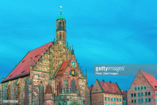 """Frauenkirche (""""Church of Our Lady"""") in Nuremberg, Germany."""