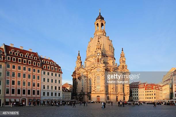 frauenkirche (church of our lady). - dresden stock-fotos und bilder