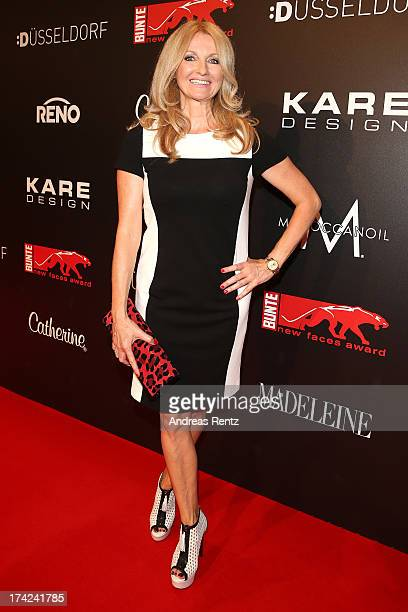 Frauke Ludowig attends KARE Design at the New Faces Award Fashion 2013 at Rheinterrasse on July 22 2013 in Duesseldorf Germany