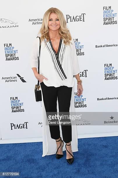 Frauke Ludowig attends the 2016 Film Independent Spirit Awards on February 27 2016 in Santa Monica California