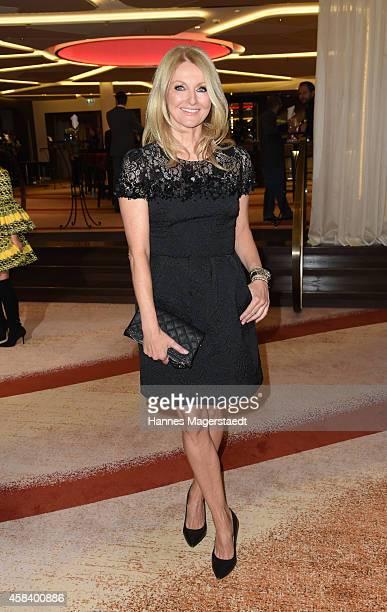 Frauke Ludowig attends the 'CLOSER Magazin Hosts SMILE Award 2014' at Hotel Vier Jahreszeiten on November 4 2014 in Munich Germany