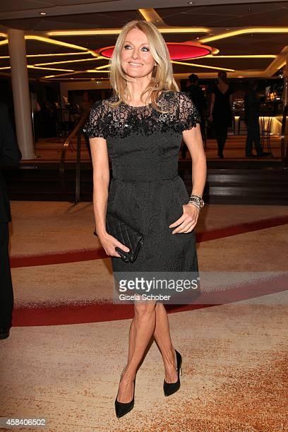 Frauke Ludowig attends the CLOSER Magazin Hosts SMILE Award 2014 at Hotel Vier Jahreszeiten on November 4, 2014 in Munich, Germany.
