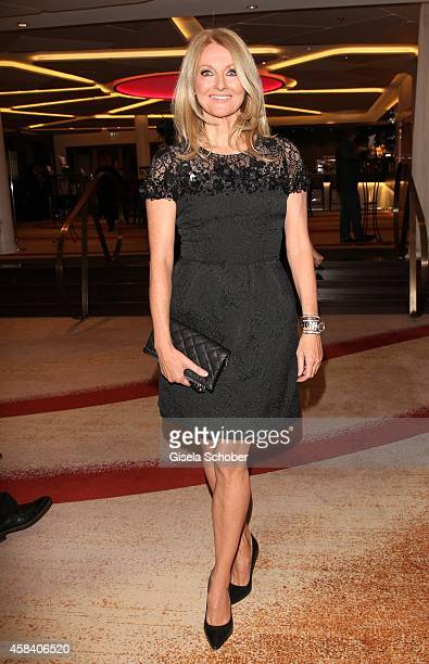 Frauke Ludowig attends the CLOSER Magazin Hosts SMILE Award 2014 at Hotel Vier Jahreszeiten on November 4 2014 in Munich Germany