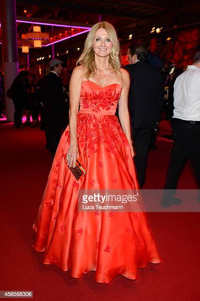 Frauke Ludowig attends the Deutscher Fernsehpreis 2014 after show party at Coloneum on October 2 2014 in Cologne Germany