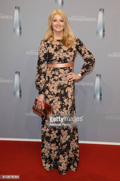Frauke Ludowig attends the German Television Award at Palladium on January 26 2018 in Cologne Germany