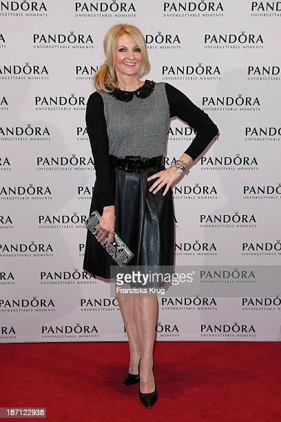 Frauke Ludowig attends the Pandora Essence Collection Launch at Europa Passage on November 06 2013 in Hamburg Germany