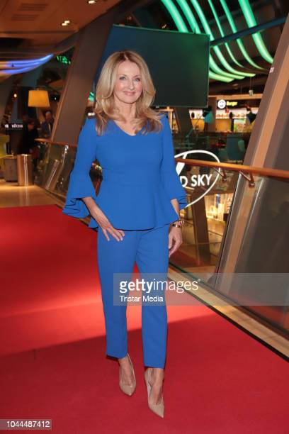 Frauke Ludowig during the charity event 'Food for Good' to celebrate the first anniversary of Food Sky at Europa Passage on October 1 2018 in Hamburg...
