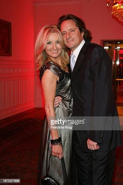 Frauke Ludowig Und Ehemann Kai Roeffen Bei Couple Of The Year Im Louis C Jacob In Hamburg
