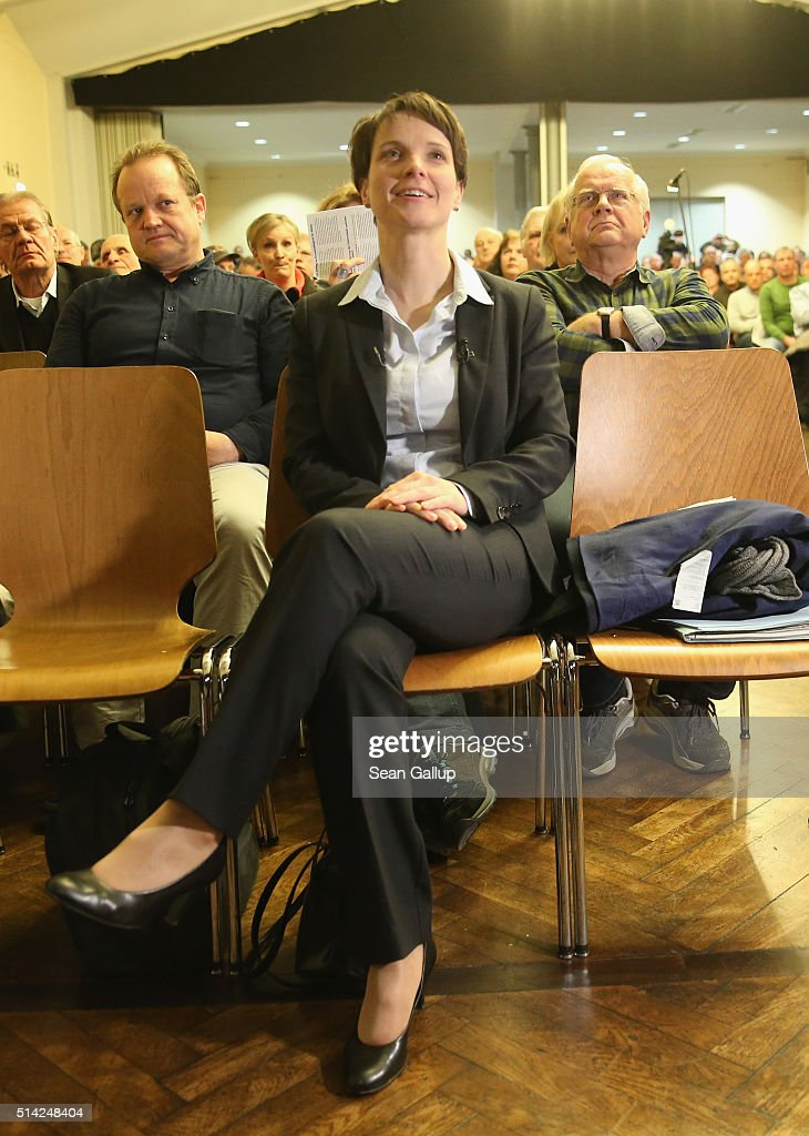 AfD Campaigns In Baden-Wuerttemberg