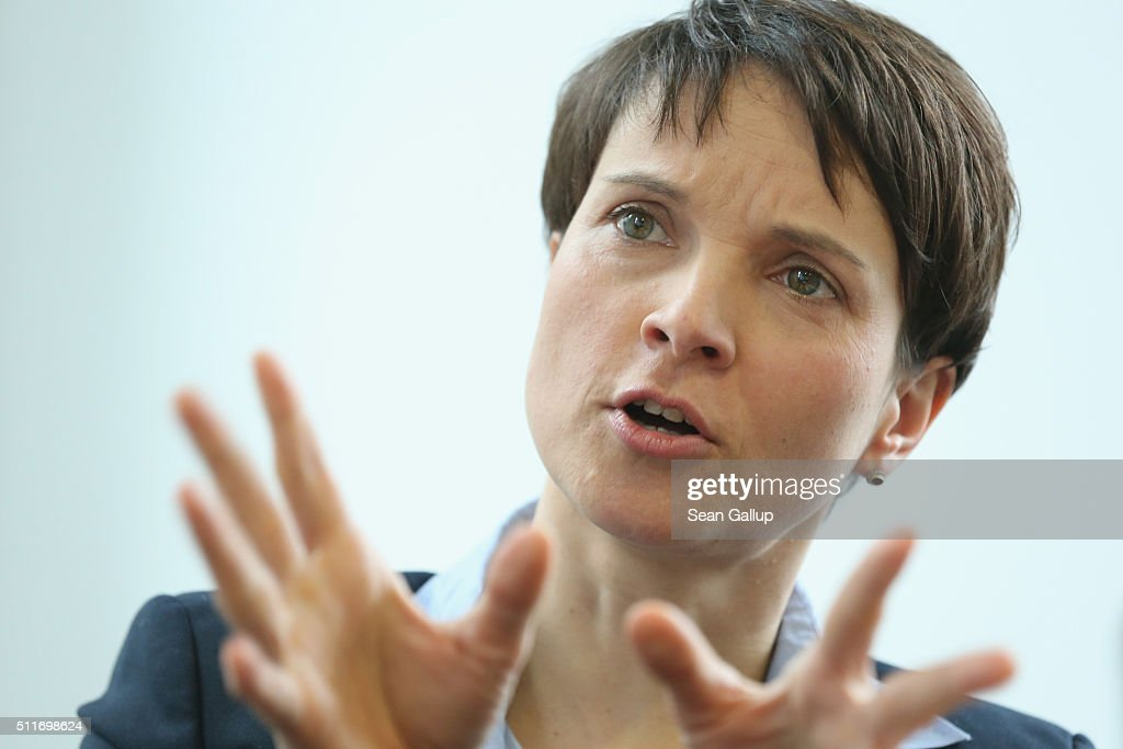 Frauke Petry Speaks To Foreign Journalists Association