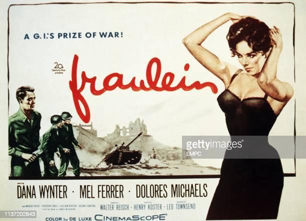 Fraulein poster Mel Ferrer Dana Wynter 1958