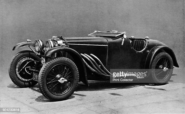 Frazer Nash Racing Car' 1937 From Sir Malcolm Campbell's Book of Famous Motorists edited by Sir Malcolm Campbell [Blackie Son Limited London and...