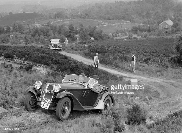 FrazerNash BMW 315/40 taking part in the NWLMC Lawrence Cup Trial 1937 FrazerNash BMW Type 315/40 2 seater 1935 1500 cc Vehicle Reg No CMK746 Event...