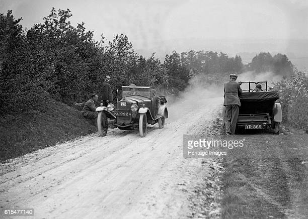 FrazerNash Boulogne taking part in the North West London Motor Club Trial 1 June 1929 FrazerNash lwb Bologne 1926 1496 cc Vehicle Reg No KU9924 Event...
