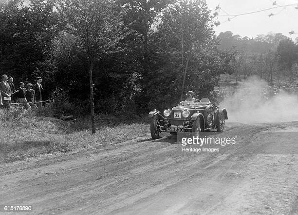 FrazerNash TT Bugatti Owners Club Hill Climb Chalfont St Peter Buckinghamshire 1935 FrazerNash TT Replica 1934 1496S cc Vehicle Reg No CMH500 Event...