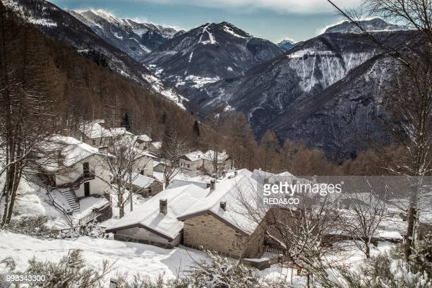 Frazione di Lavade Tremenico Lake Como Lombardia Italy Europe Photo by Carlo Borlenghi/REDACO/Universal Images Group via Getty Images