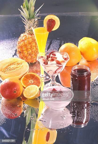 Früchte Fruchtsaft Quark Eis Marmelade 2001