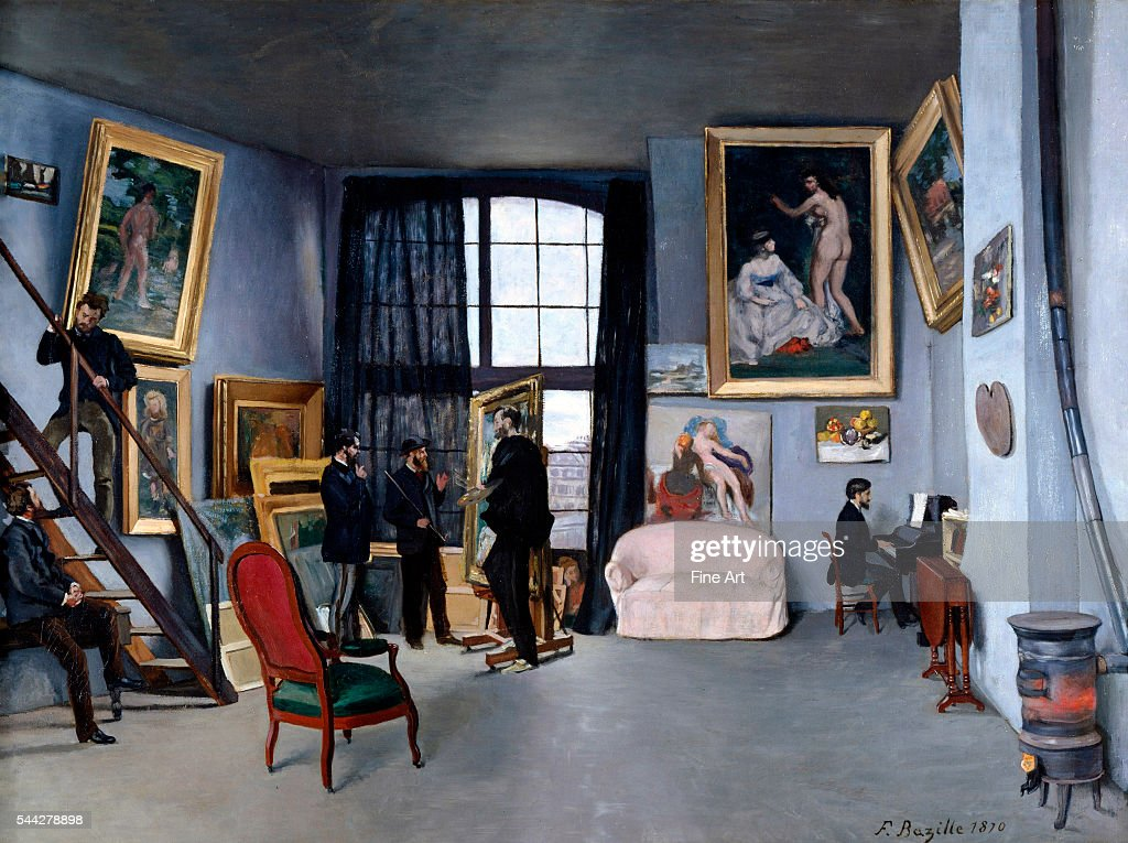 Bazille's Studio by Frédéric Bazille : News Photo