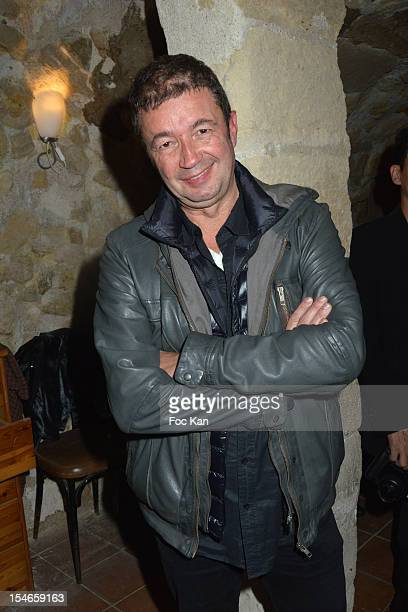 FrŽdŽric Bouraly from 'Scene de Menage' attends the 'Les 10 Ans de Marc Mitonne' Party Hosted by '2 Mains Rouges' at the Marc Mitonne Restaurant on...