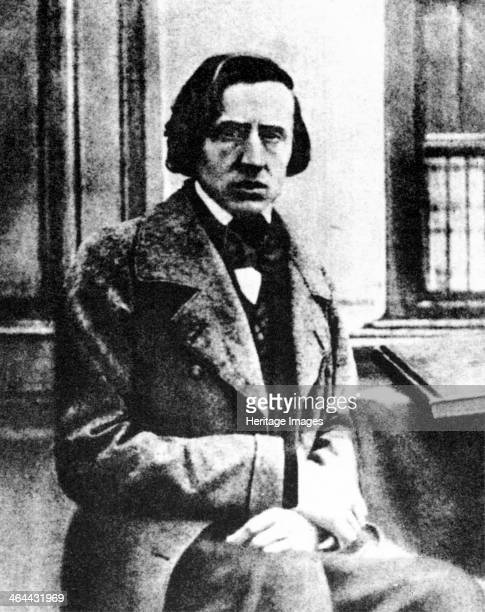 Frédéric Chopin Polish pianist and composer 1849 The only known photograph of Chopin