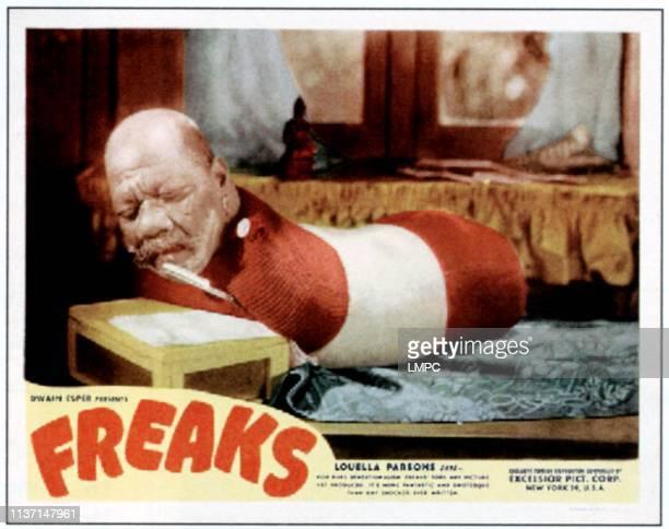 Freaks, lobbycard, Prince Randian, 1932.