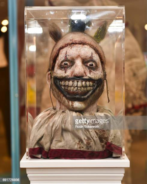 Freakshow costuming at the American Horror Story The Style Of Scare exhibit at The Paley Center for Media on June 2 2017 in Beverly Hills California